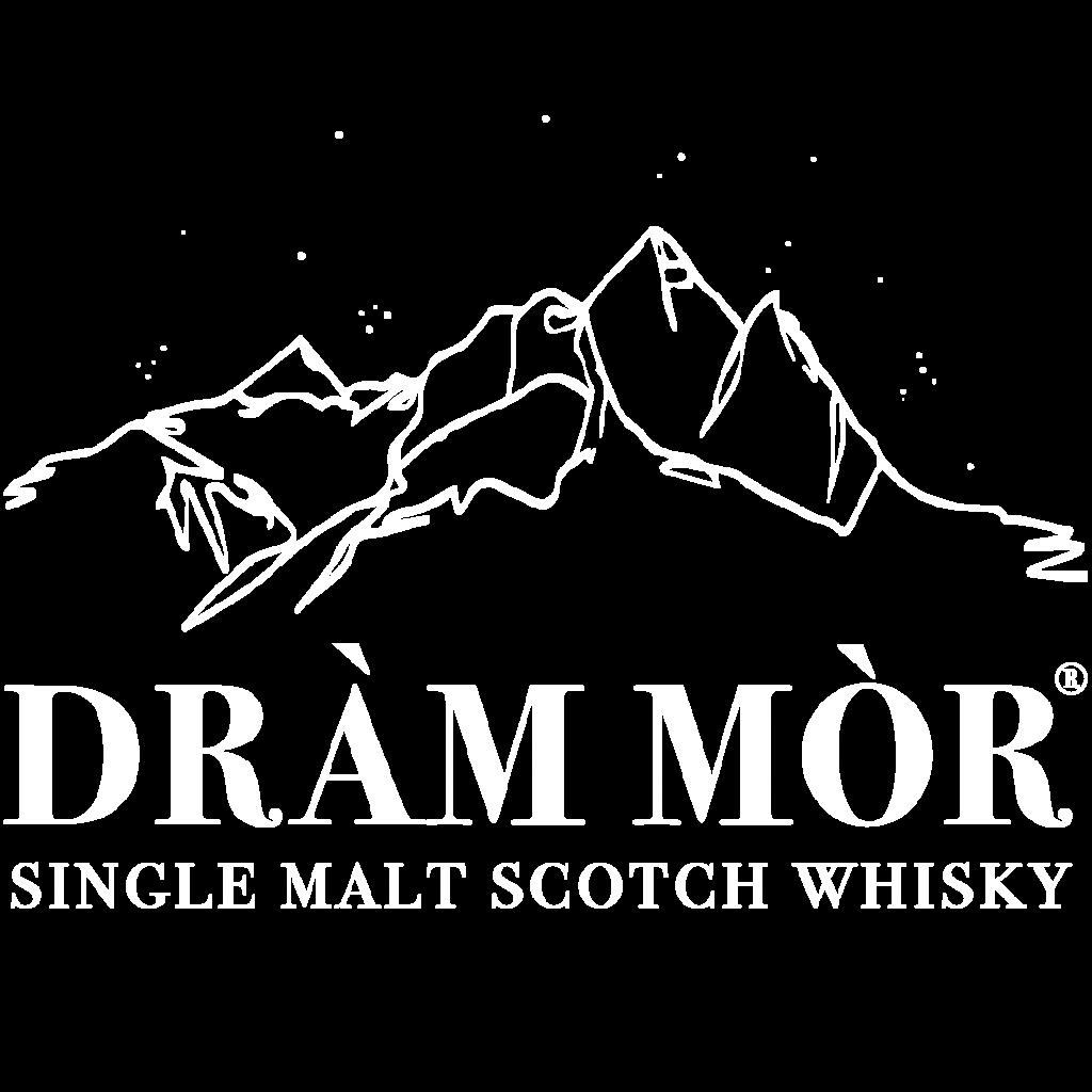 Dram Mor Logo White